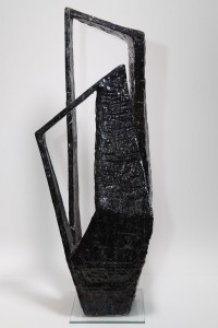 Vaso scultura in bucchero