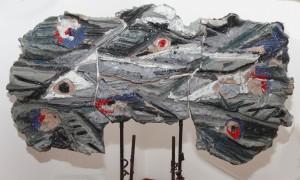 Fiore preistorico - scultura (1959)